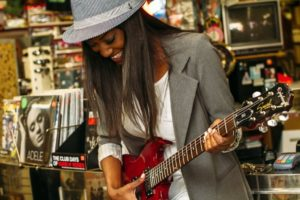 Playing guitar after high school