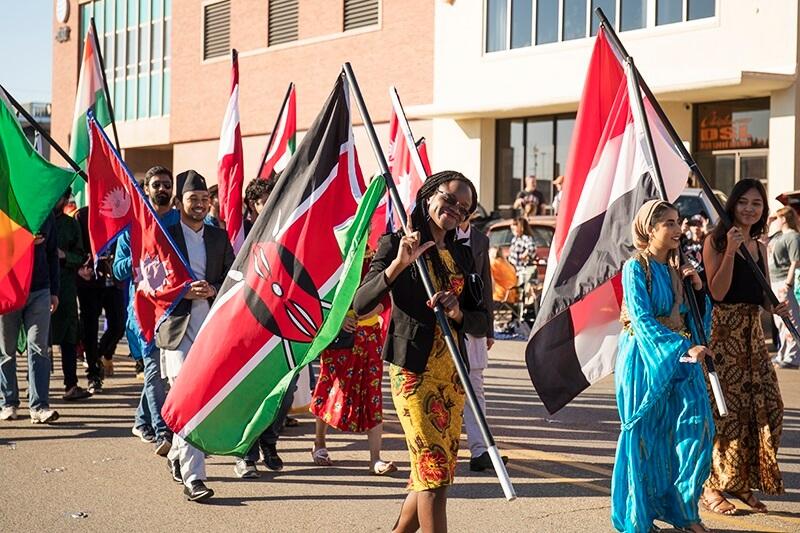 Kenyan studying in usa