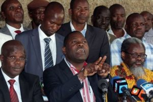 Kenya Lecturers Union Leaders