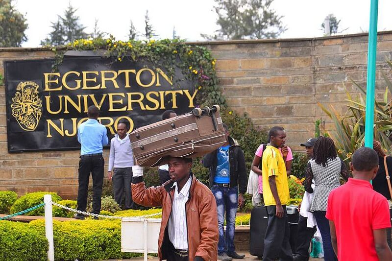 Egerton University Students