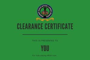 Helb clearance and compliance certificates
