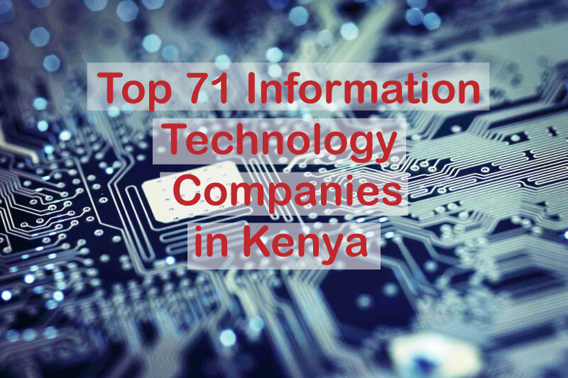 List of top Kenyan IT Companies