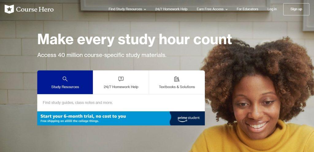 Course Hero tutor account