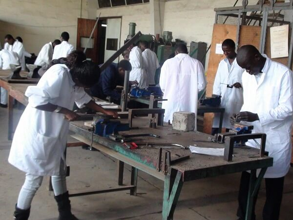 Diploma Students in a workshop