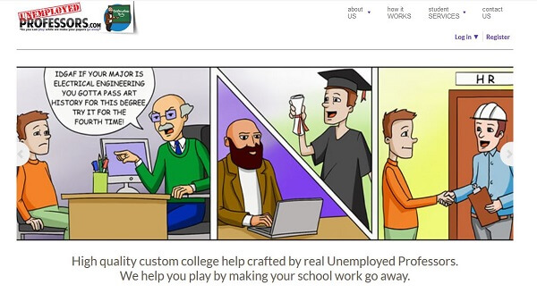 Unemployed Professors review