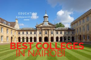 Best colleges in Nairobi