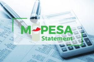 MPesa Mini and Full Statement