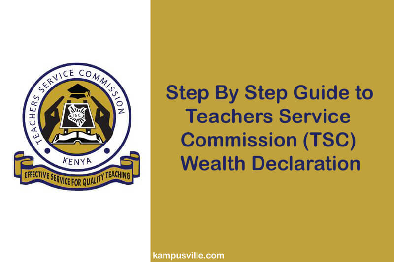 TSC wealth declaration
