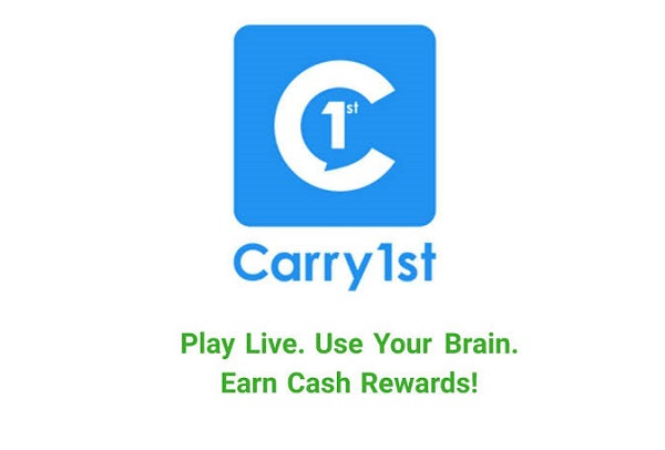 Carry1st Trivia App Make money app