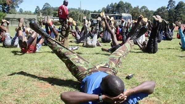 KDF recruitment exercises