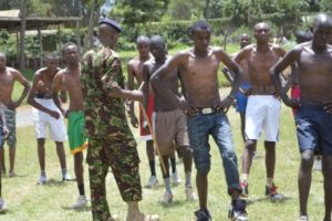 KDF recruitment requirements