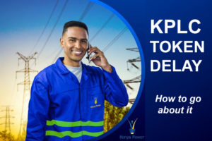 KPLC token delay