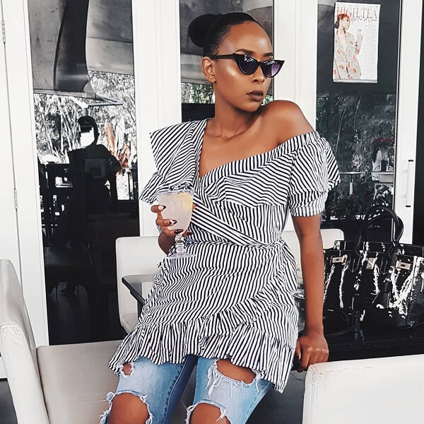 Nancie Mwai fashion blogger