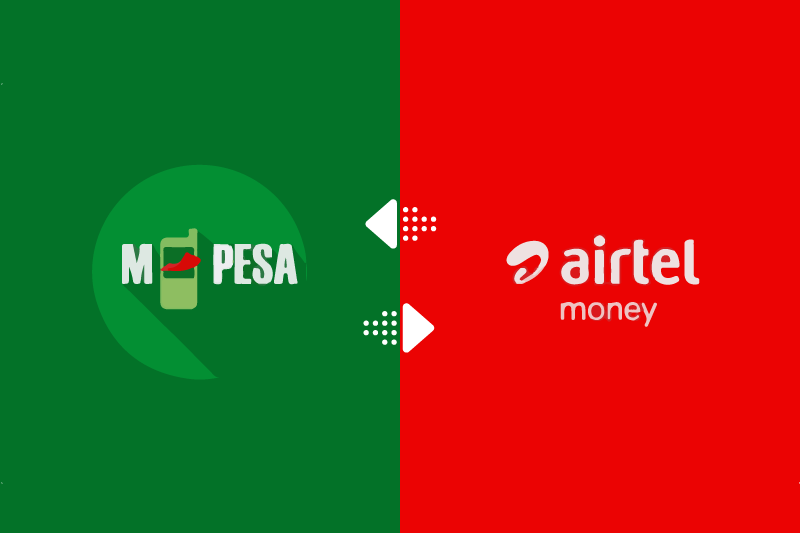 MPesa and Airtel Money