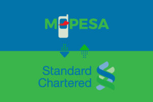 Transfer money MPesa to StanChart Bank