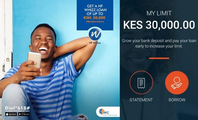 HF Whizz Loan App Kenya
