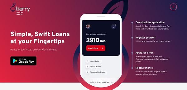 Berry Loan App Kenya