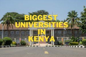 Biggest Universities in Kenya